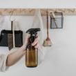 barna tároló üveg tisztítószereknek