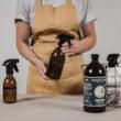 spriccelős üvegek házi készítésű takarítószereknek