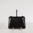 műanyagmentes háztartás falra szerelhető fogas Iris Hantverk
