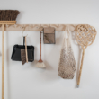 zero waste falra szerelhető fogas Iris Hantverk