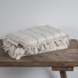 ágytakaró pamut kockás