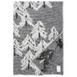 Erdő mintás gyapjú takaró