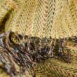 gyapjú takaró sárga