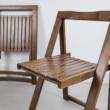 összecsukható fa szék