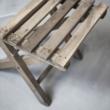régi kis szék összecsukható