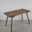 régi népi fa asztal