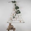 sárgaréz füzér különleges karácsonyi dekoráció