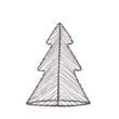 Drót fenyőfa