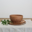 natúr fa tányér
