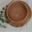 fa tányér orgona fából
