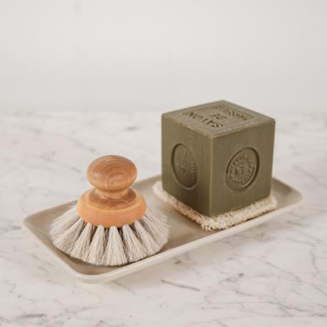 mosogató kefe lószőrből Iris Hantverk
