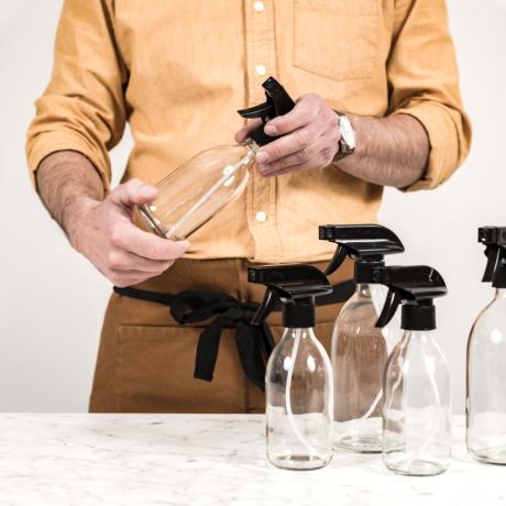 üveg tisztítószereknek