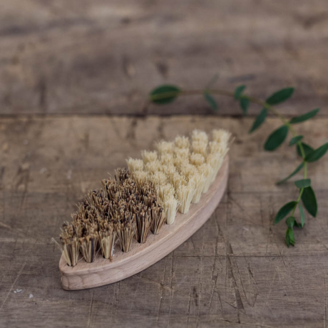 Zöldségmosó kefe növényi rosttal
