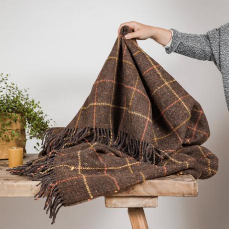 Gyapjú takaró faházba