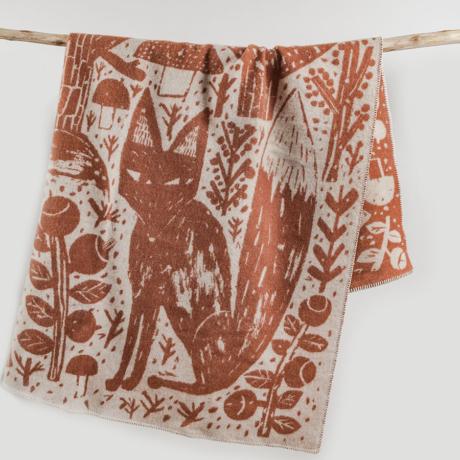 Gyapjú takaró rókás