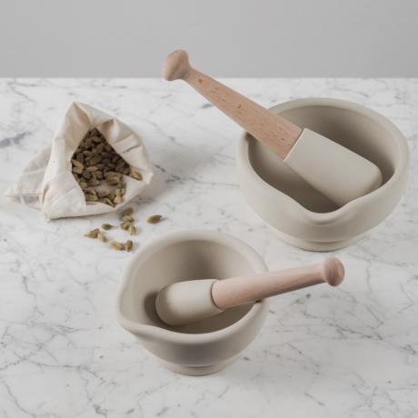 milton brook porcelán mozsár