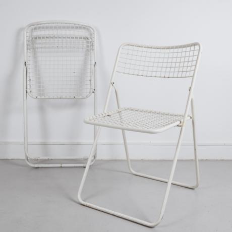 összecsukható fém szék
