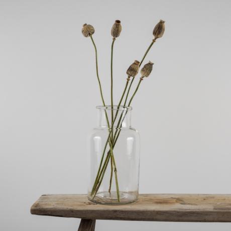 régi üvegek vázának