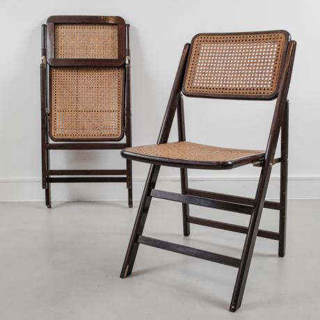 összecsukható rattan szék