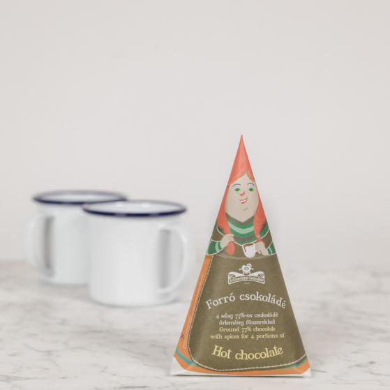 Forró csokoládépor, fűszeres
