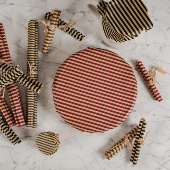 Méhviaszkendő szett, kör