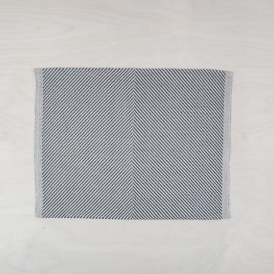 Textil tányér alátét - szürke