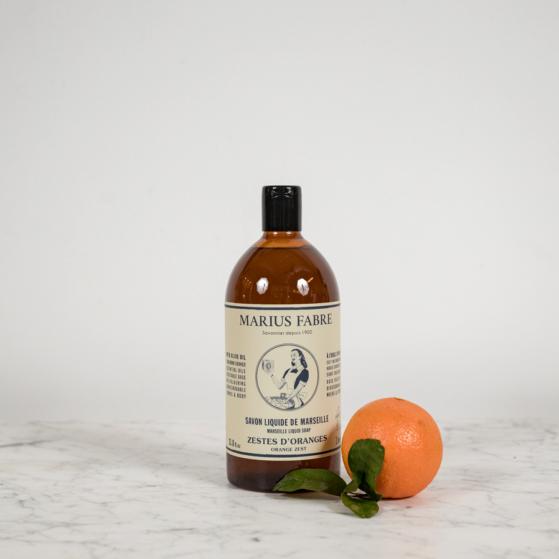 Marius Fabre folyékony tusfürdő narancs illattal