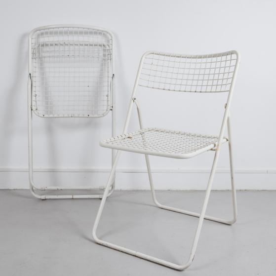 Összecsukható fém szék, Niels Gammelgaard