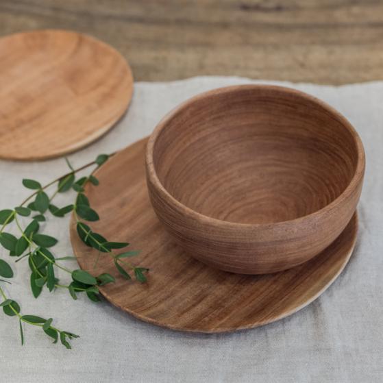 Fa tányérok
