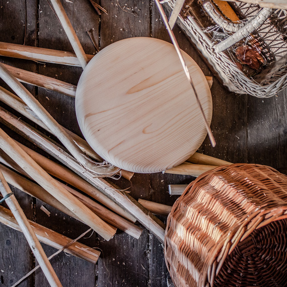 Vessző kosarak készítése itthon márka alapítóitól.