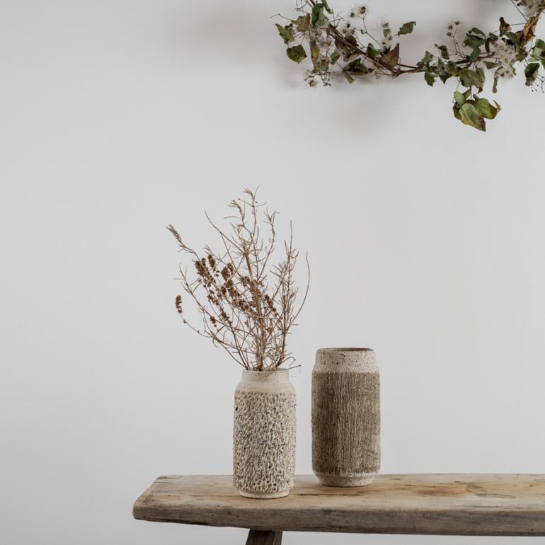 kerámia váza - karácsonyi ajándék ötlet