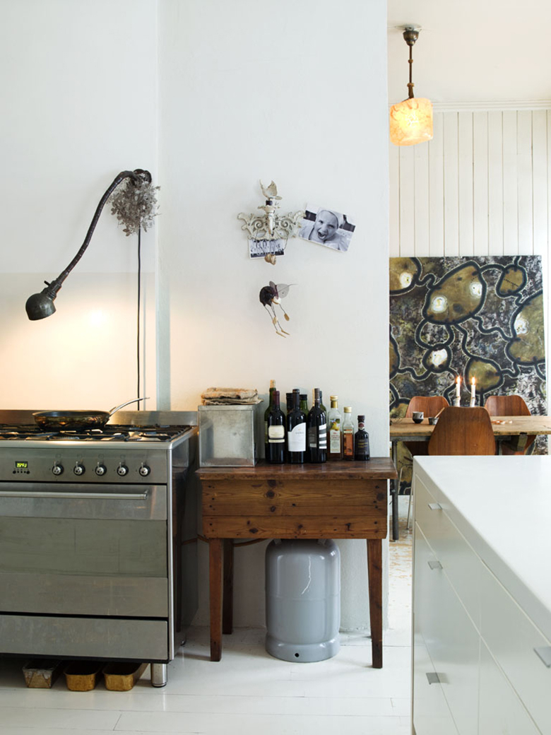 Maria Overby otthona a The Scandinavian Home című könyvből