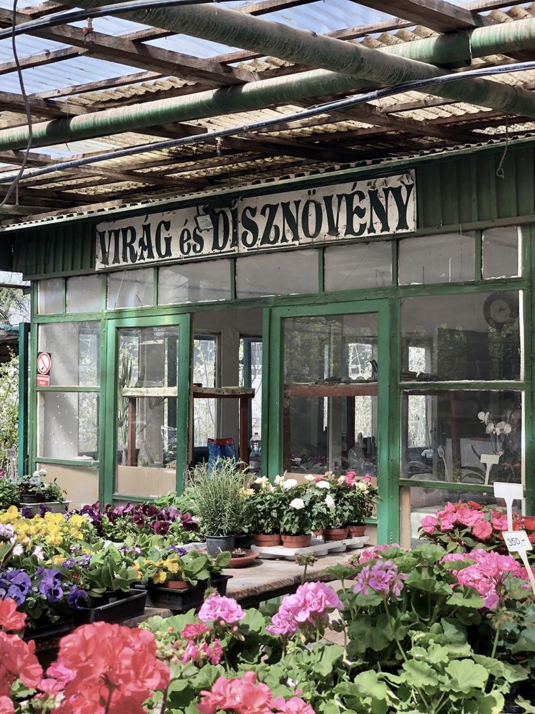 kertészet a Kereszttúri úton