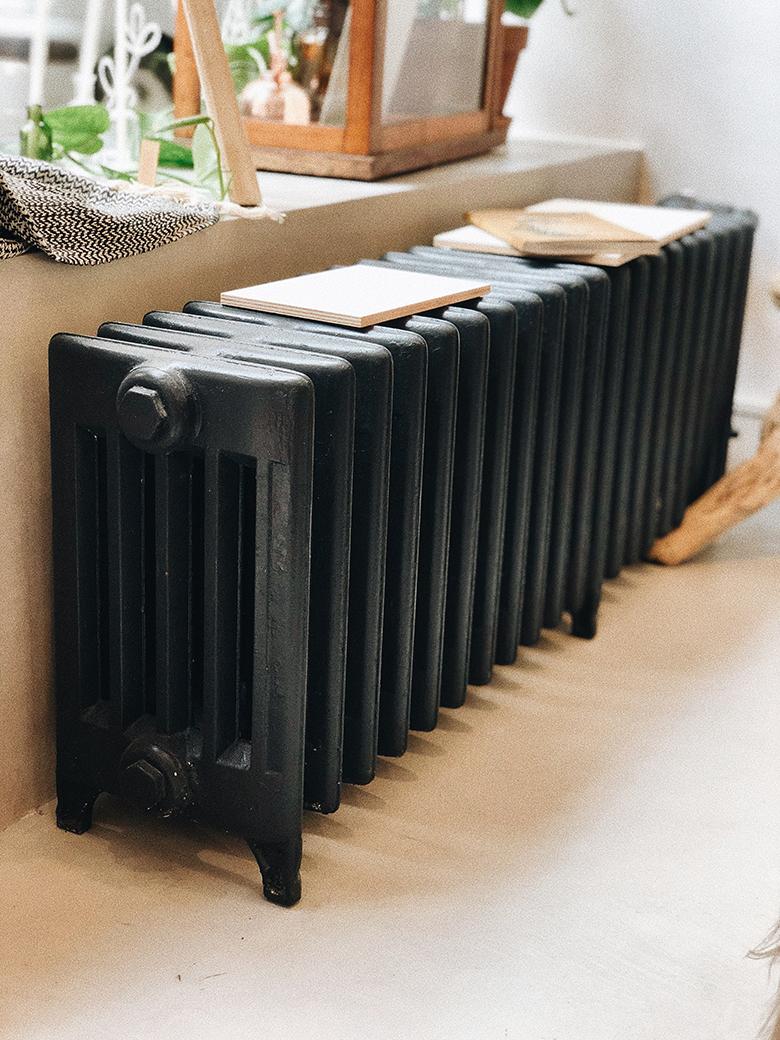 öntött vas radiátor - Pauza üzletkialakítás