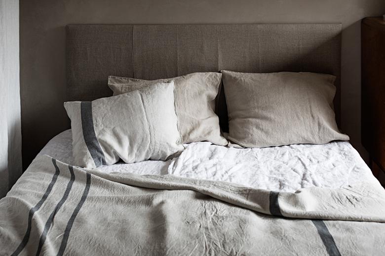 100% lenvászon - a textilek istennője elmaradhatatlan kellék a hálószobában