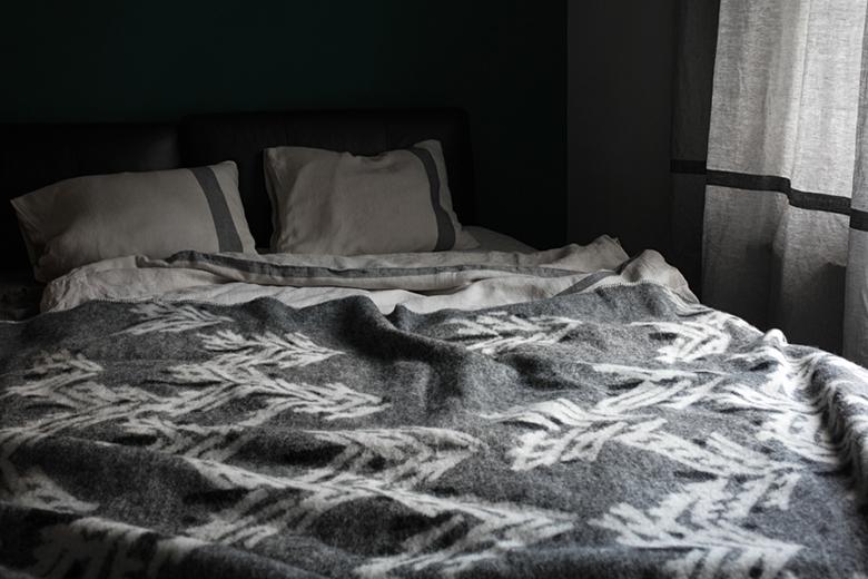 100% gyapjú takaró antisztatikus és hőmérséklet szabályozó