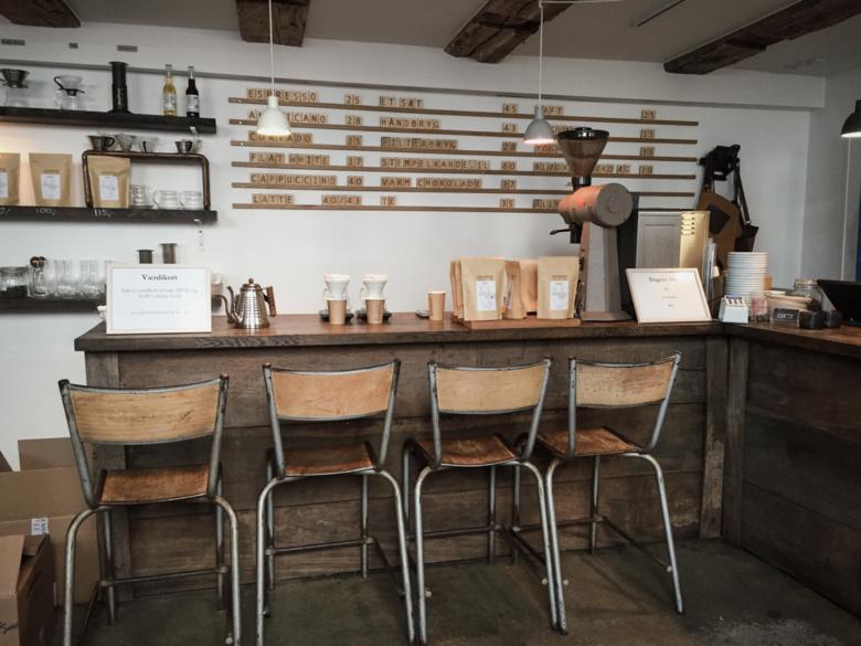 CUB Speciality kávézó, Koppenhága.