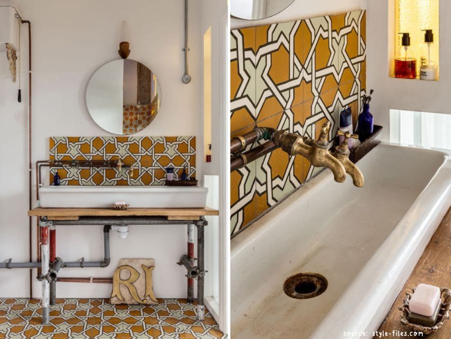 egyszerű, szép fürdőszobák
